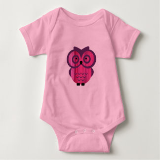 Who, who, who loves owls? baby bodysuit