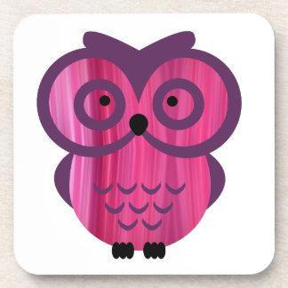 Who, who, who loves owls? coaster