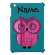 Who, who, who loves owls? iPad mini cases