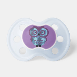 Who, who, who loves owls? pacifier