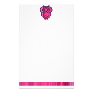 Who, who, who loves owls? stationery