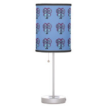 Who, who, who loves owls? table lamp