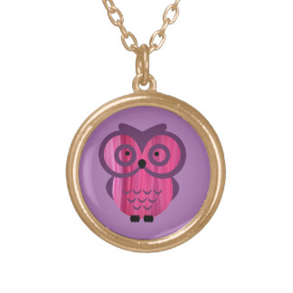 Who, who, who loves pendants? round pendant necklace