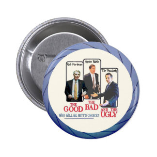 Who will be Mitt's Choice? Pinback Button