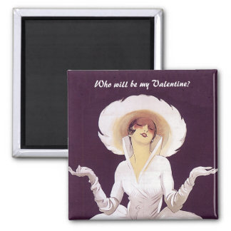 Who will be my Valentine? Refrigerator Magnet