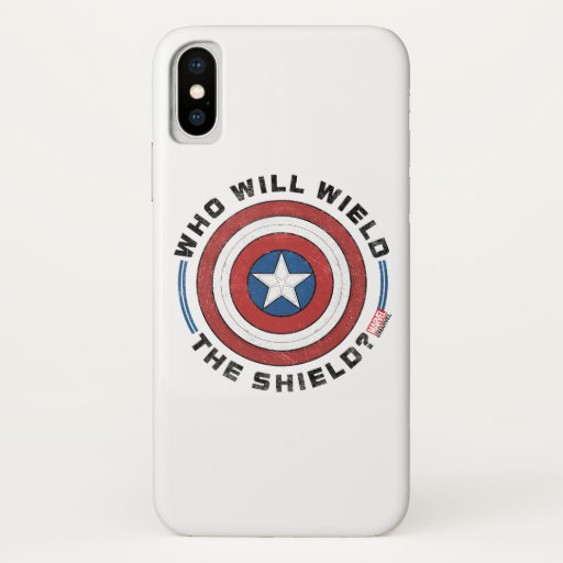 Who Will Wield The Shield Badge iPhone X Case