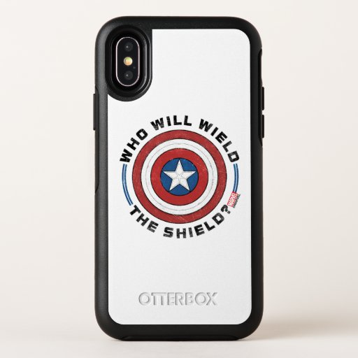 Who Will Wield The Shield Badge OtterBox Symmetry iPhone X Case