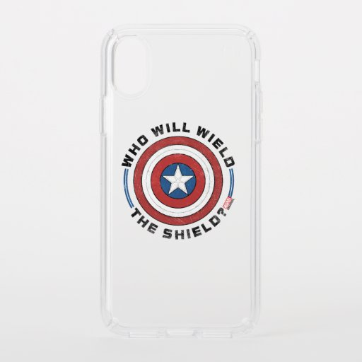 Who Will Wield The Shield Badge Speck iPhone X Case