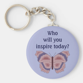 Who will you inspire today? Butterfly Keychain