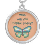 Who will you inspire today? Butterfly Necklace