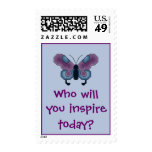 Who will you inspire today? Butterfly Postage