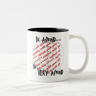 Who would you like in your sight? Two-Tone coffee mug