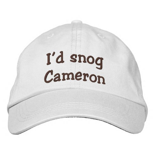 Who Would You-Snog, avoid, and Marry? Embroidered Baseball Hat