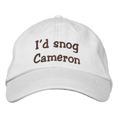 Who Would You-Snog, avoid, and Marry? Embroidered Baseball Cap