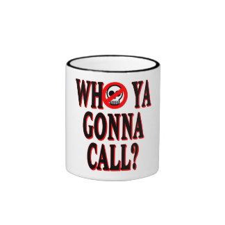 Who ya gonna call? ringer mug