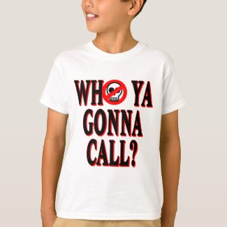 Boys Who Ya Gonna Call Ghostbusters T-shirt