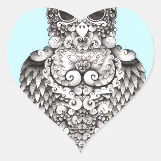 WHO YO - POR LARISSA - LOGO1.jpg ORIGINAL Pegatina En Forma De Corazón