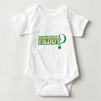 Who you calling PADDY? Baby Bodysuit