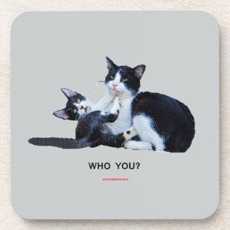 Who You Cats Coaster