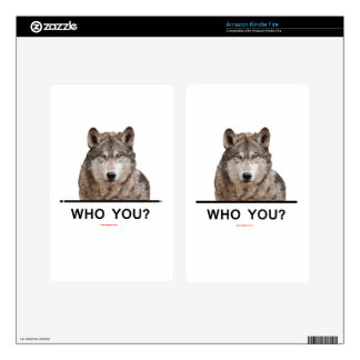WHO_YOU_WOLF KINDLE FIRE DECALS