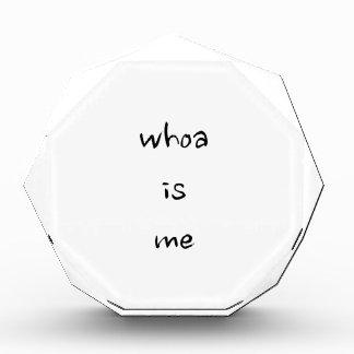 """""""whoa is me""""- choose model/size award"""