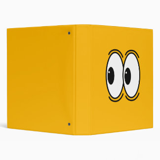 whoa look over there eyes customizable 3 ring binder