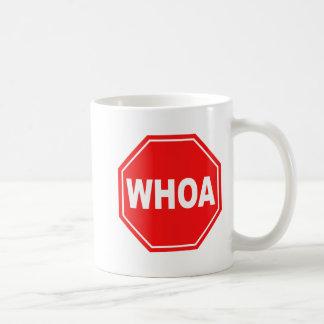 whoa tazas de café