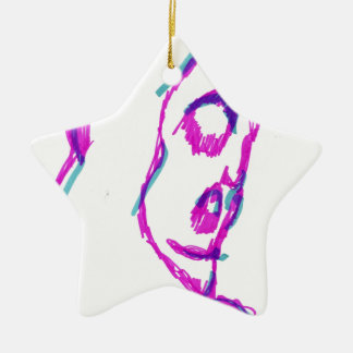 WhoamI Ceramic Ornament