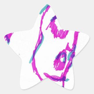 WhoamI Star Sticker