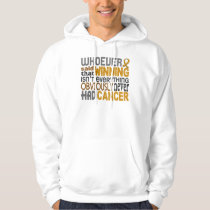 Whoever Said Appendix Cancer Hoodie