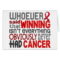 Whoever Said Blood Cancer
