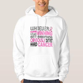 Whoever Said Breast Cancer Sweatshirt