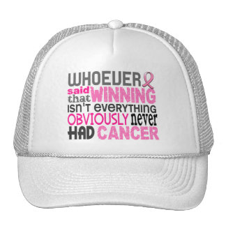 Whoever Said Breast Cancer Trucker Hat