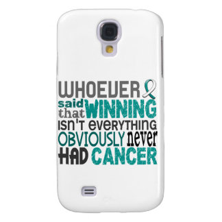 Whoever Said Cervical Cancer Galaxy S4 Case