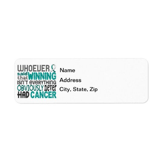 Whoever Said Cervical Cancer Label