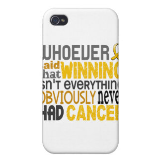 Whoever Said Childhood Cancer iPhone 4 Case