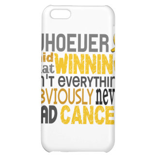 Whoever Said Childhood Cancer iPhone 5C Case