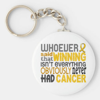 Whoever Said Childhood Cancer Key Chain