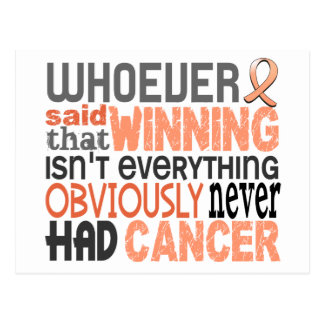 Whoever Said Endometrial Cancer Postcard