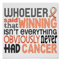 Whoever Said Endometrial Cancer Poster