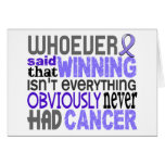 Whoever Said Esophageal Cancer Greeting Card
