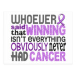 Whoever Said General Cancer Post Card