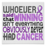 Whoever Said General Cancer Print