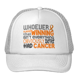 Whoever Said Kidney Cancer Trucker Hat