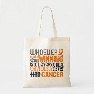 Whoever Said Leukemia Tote Bags