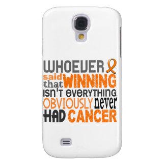 Whoever Said Leukemia Samsung Galaxy S4 Covers
