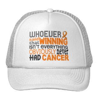 Whoever Said Leukemia Trucker Hat