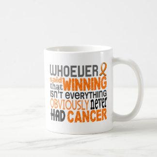 Whoever Said Leukemia Classic White Coffee Mug