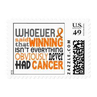 Whoever Said Leukemia Stamp