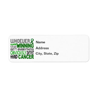 Whoever Said Liver Cancer Label